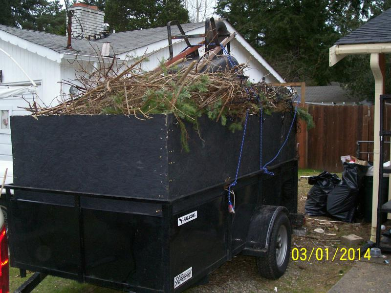 Rjp home yard service junk removal hauling tacoma for Furniture kitsap county