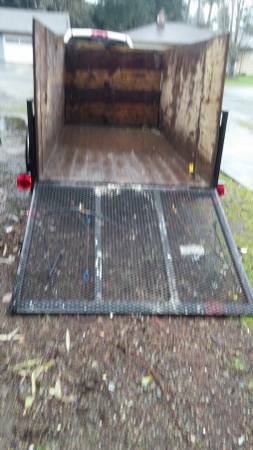 Junk Removal Tacoma Washington Trailer